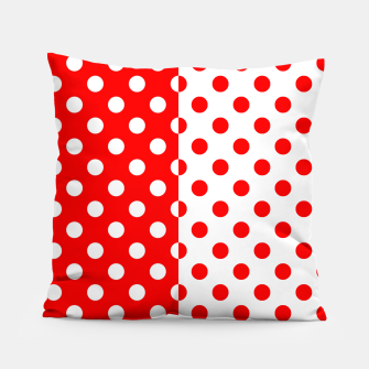 Thumbnail image of POLKA DOTS FASHIONISTA Pillow, Live Heroes