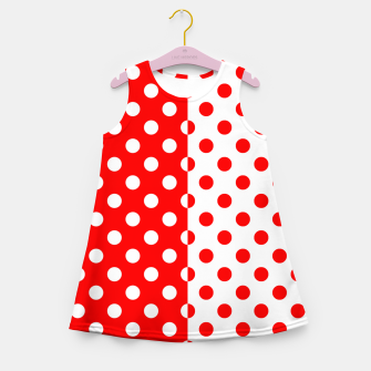 Thumbnail image of POLKA DOTS FASHIONISTA Girl's summer dress, Live Heroes