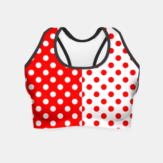 Thumbnail image of POLKA DOTS FASHIONISTA Crop Top, Live Heroes
