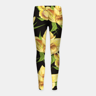 Thumbnail image of Narcissus Sweetness  Leggings para niña, Live Heroes