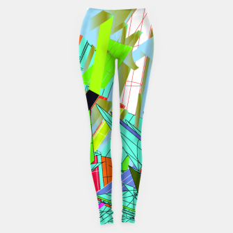 Miniatur abstract Leggings, Live Heroes