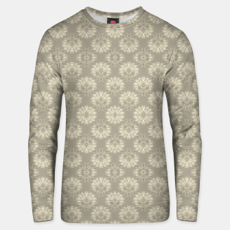 Thumbnail image of Bright Silver Decorative Motif Pattern Unisex sweater, Live Heroes
