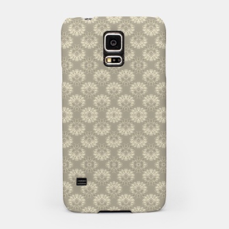 Thumbnail image of Bright Silver Decorative Motif Pattern Samsung Case, Live Heroes