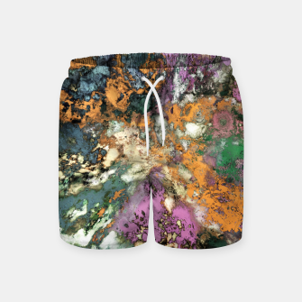 Thumbnail image of Misdirection Swim Shorts, Live Heroes