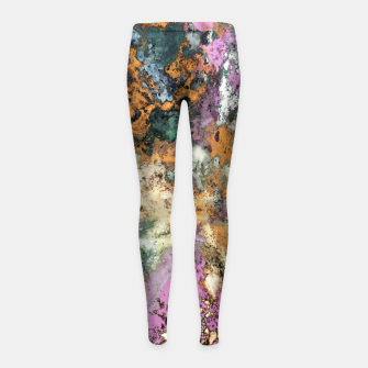 Thumbnail image of Misdirection Girl's leggings, Live Heroes