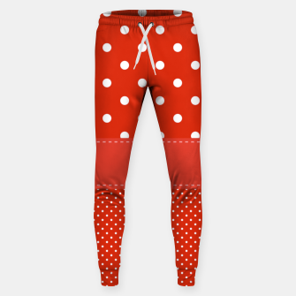 Thumbnail image of POLKA DOTS TWO TIMES Sweatpants, Live Heroes