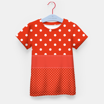 Thumbnail image of POLKA DOTS TWO TIMES Kid's t-shirt, Live Heroes