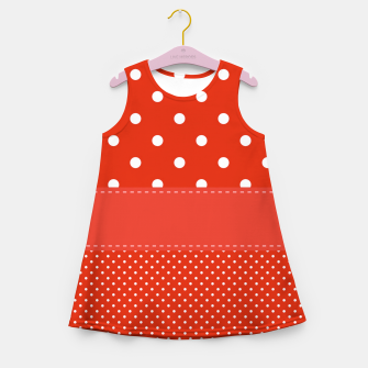 Thumbnail image of POLKA DOTS TWO TIMES Girl's summer dress, Live Heroes