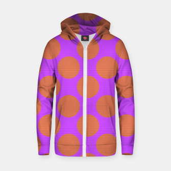 Thumbnail image of POLKA DOTS TWO TIMES 7 Zip up hoodie, Live Heroes