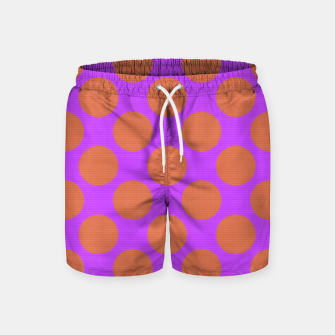 Thumbnail image of POLKA DOTS TWO TIMES 7 Swim Shorts, Live Heroes