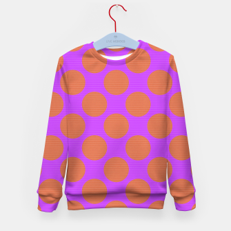 Thumbnail image of POLKA DOTS TWO TIMES 7 Kid's sweater, Live Heroes