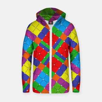 Thumbnail image of SQUARED UP Zip up hoodie, Live Heroes