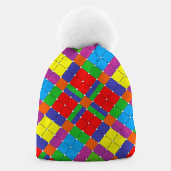 Thumbnail image of SQUARED UP Beanie, Live Heroes