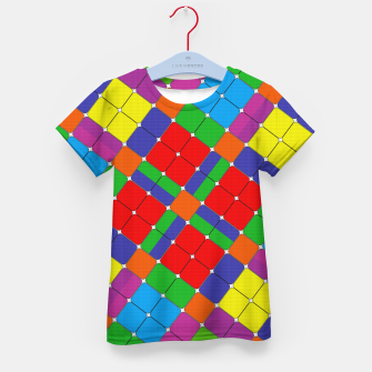 Thumbnail image of SQUARED UP Kid's t-shirt, Live Heroes
