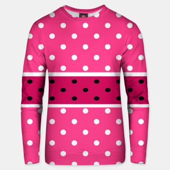 Thumbnail image of POLKA DOTS TWO TIMES 2 Unisex sweater, Live Heroes