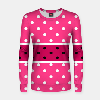 Thumbnail image of POLKA DOTS TWO TIMES 2 Women sweater, Live Heroes