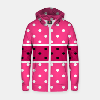 Thumbnail image of POLKA DOTS TWO TIMES 2 Zip up hoodie, Live Heroes