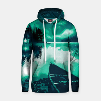 Thumbnail image of stars and snowflakes Hoodie, Live Heroes