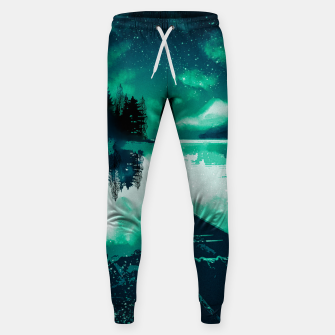 Thumbnail image of stars and snowflakes Sweatpants, Live Heroes