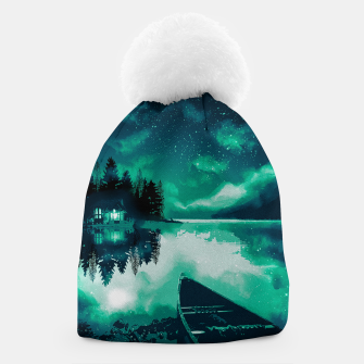 Thumbnail image of stars and snowflakes Beanie, Live Heroes