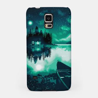 Thumbnail image of stars and snowflakes Samsung Case, Live Heroes