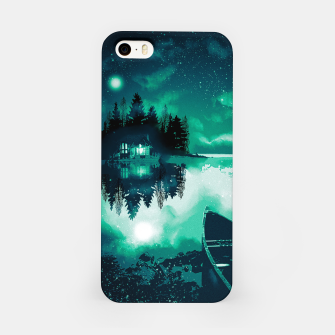 stars and snowflakes iPhone Case thumbnail image