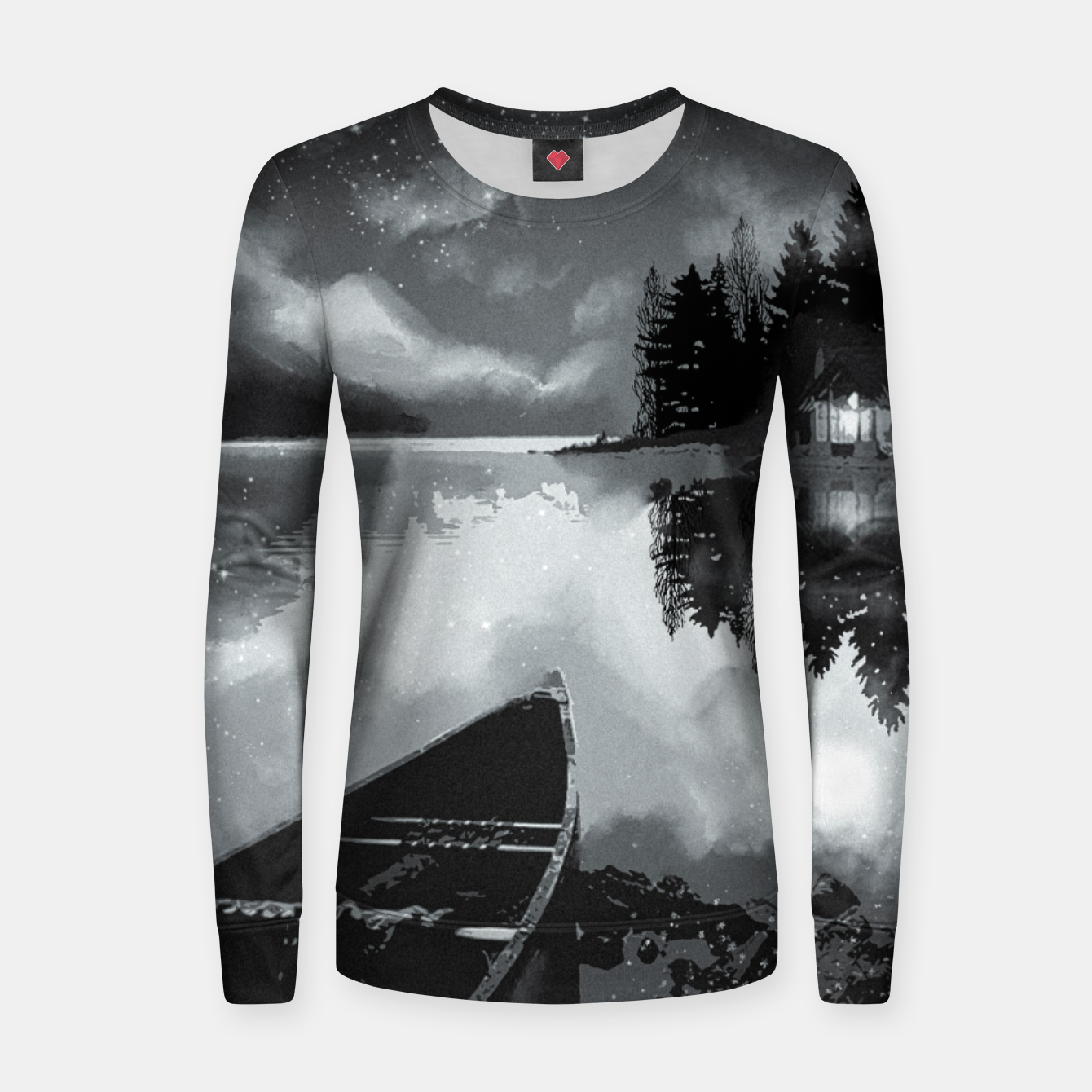Image of river by starlight Women sweater - Live Heroes