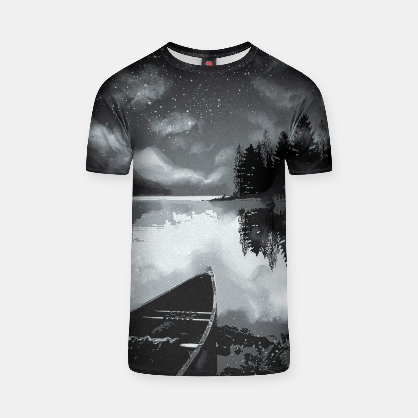 Image of river by starlight T-shirt - Live Heroes