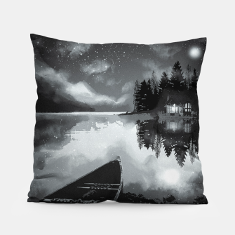 Thumbnail image of river by starlight Pillow, Live Heroes
