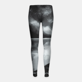 Thumbnail image of river by starlight Girl's leggings, Live Heroes