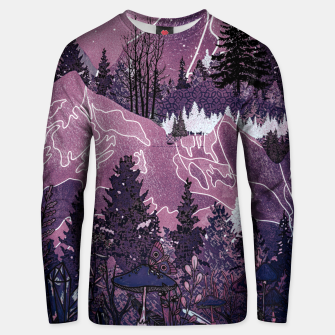 Thumbnail image of Purple Meadow Unisex sweater, Live Heroes