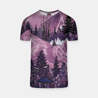 Thumbnail image of Purple Meadow T-shirt, Live Heroes