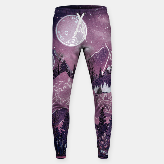 Thumbnail image of Purple Meadow Sweatpants, Live Heroes