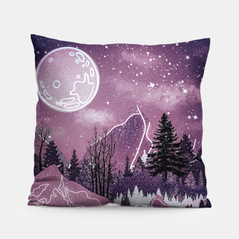 Thumbnail image of Purple Meadow Pillow, Live Heroes