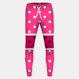 Thumbnail image of POLKA DOTS TWO TIMES 2 Sweatpants, Live Heroes