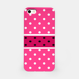 Thumbnail image of POLKA DOTS TWO TIMES 2 iPhone Case, Live Heroes