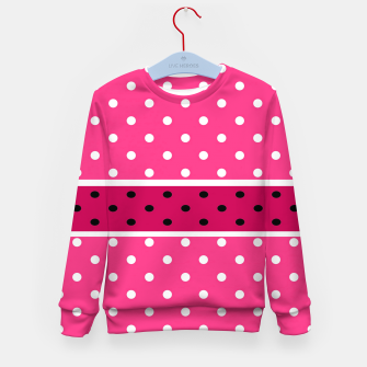 Thumbnail image of POLKA DOTS TWO TIMES 2 Kid's sweater, Live Heroes