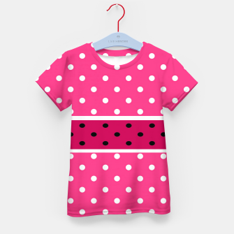 Thumbnail image of POLKA DOTS TWO TIMES 2 Kid's t-shirt, Live Heroes