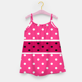 Thumbnail image of POLKA DOTS TWO TIMES 2 Girl's dress, Live Heroes