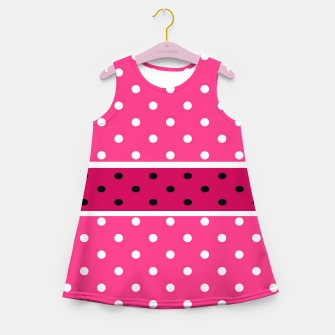 Thumbnail image of POLKA DOTS TWO TIMES 2 Girl's summer dress, Live Heroes