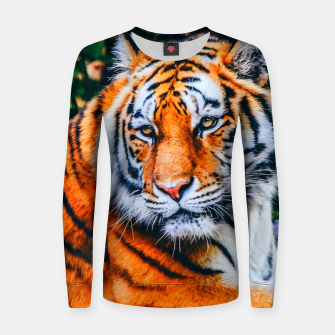 Thumbnail image of TIGER 2 Women sweater, Live Heroes
