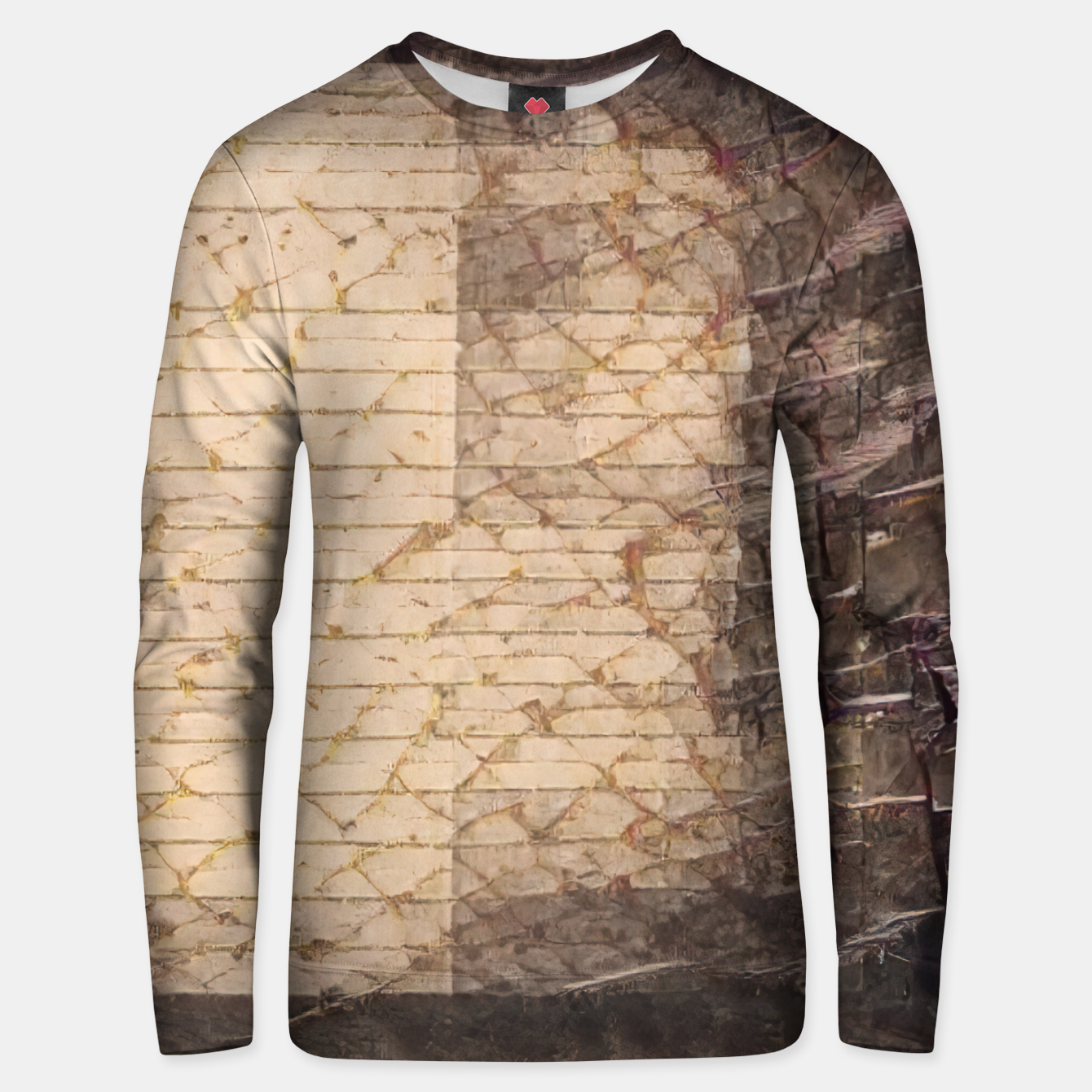 Zdjęcie abstract 4 Unisex sweater - Live Heroes