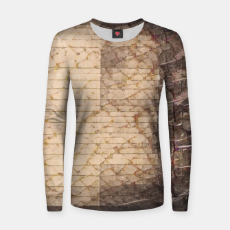 Thumbnail image of abstract 4 Women sweater, Live Heroes