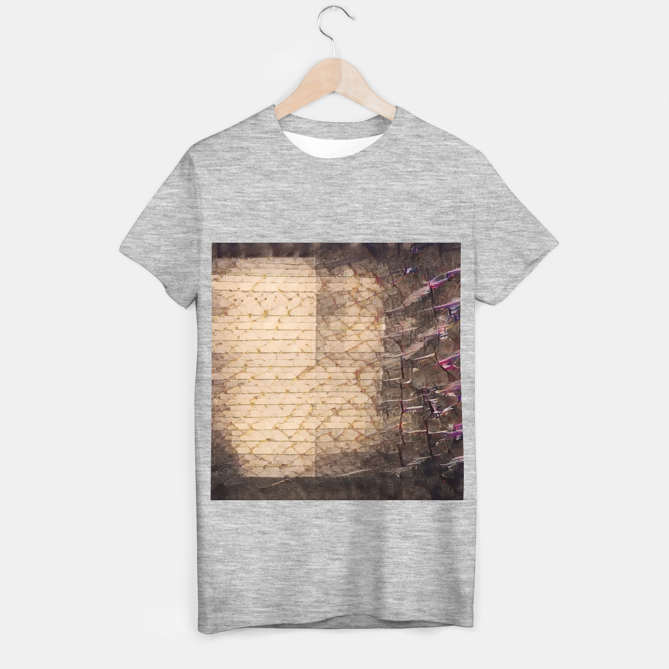 Image of abstract 4 T-shirt regular - Live Heroes
