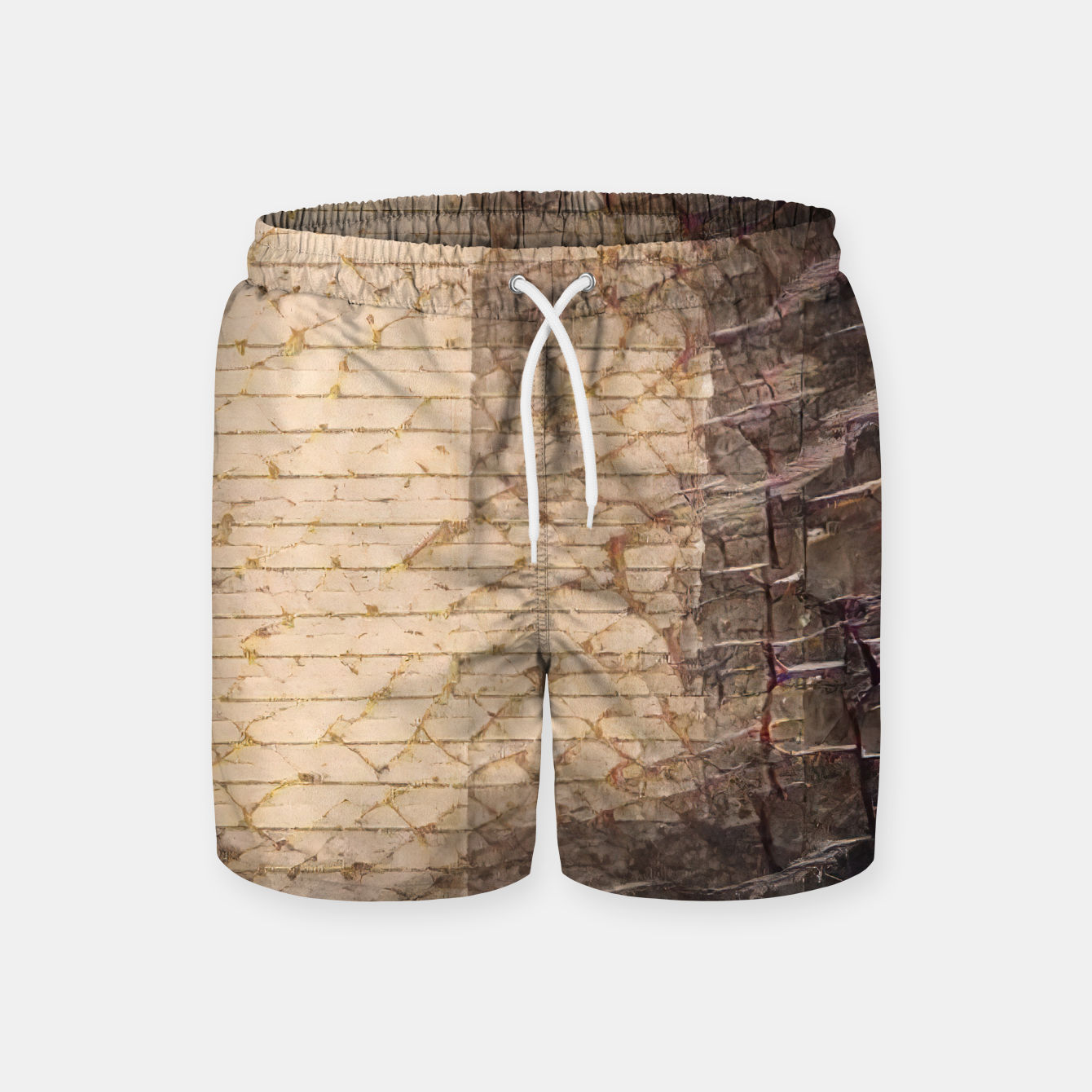 Image of abstract 4 Swim Shorts - Live Heroes
