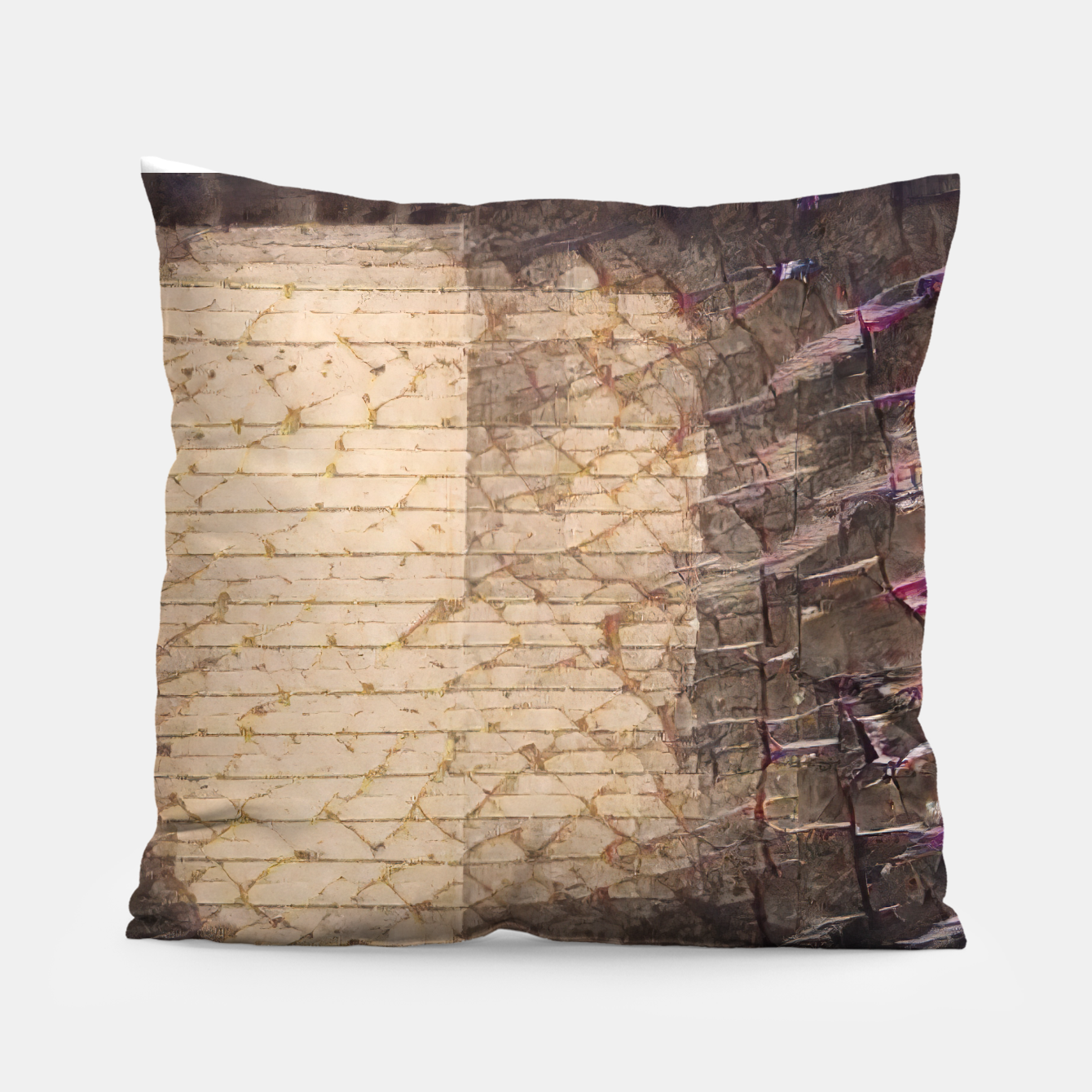 Image of abstract 4 Pillow - Live Heroes