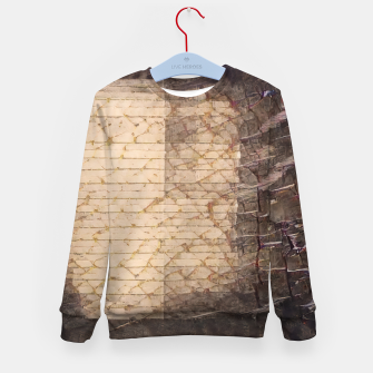 Thumbnail image of abstract 4 Kid's sweater, Live Heroes