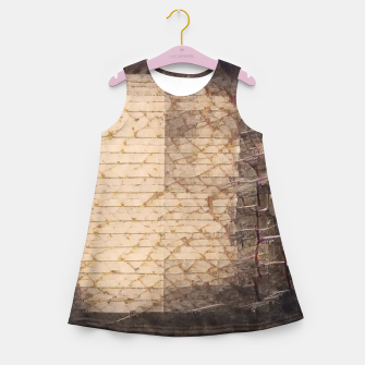 abstract 4 Girl's summer dress obraz miniatury
