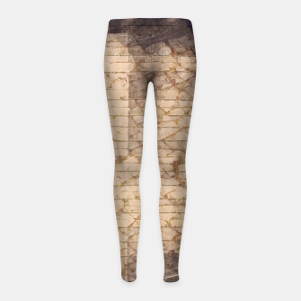 abstract 4 Girl's leggings obraz miniatury