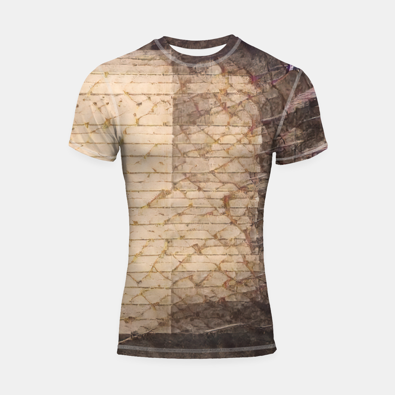 Image of abstract 4 Shortsleeve rashguard - Live Heroes